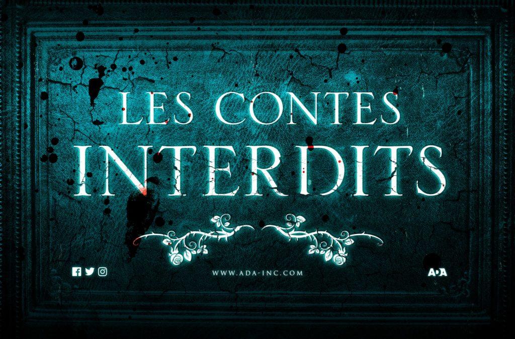 Les Contes Interdits Sylvain Johnson Auteur